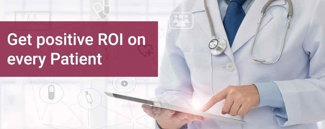 Get positive ROI on every patient through outsourced Medical Billing, Coding and Transcription Services