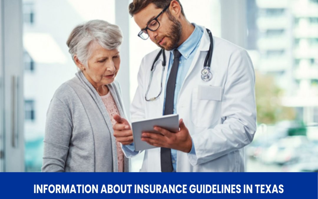 Information about Insurance Guidelines in Texas